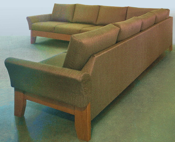heavy duty contract sofa for elderly