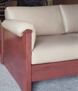 durable, stain-resistant contract sofa, yet comfortable