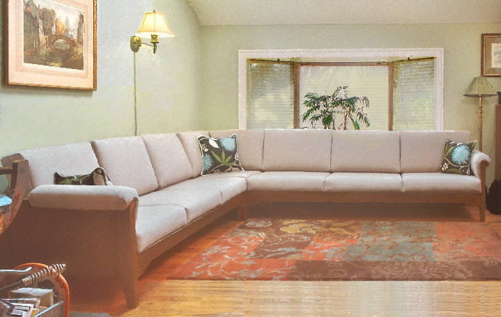 Custom Large Sectional Sofa