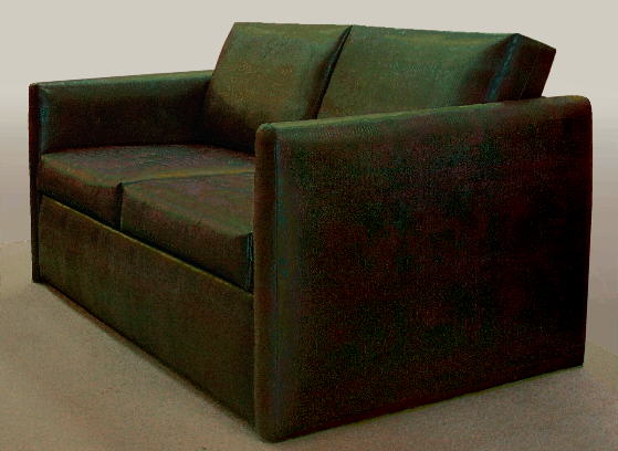 heavy duty sofa for use by challenged and handicapped